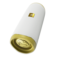 JBL Flip 5 Tomorrowland Edition - Gold/White - Portable Waterproof Speaker - Hero