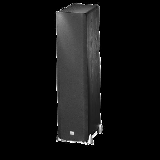 STUDIO L890 - Black - Dual 8 inch 4-Way Floorstanding - Hero