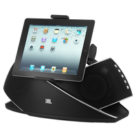 JBL OnBeat Xtreme - Black-Z - Powerful Bluetooth Speaker Dock for iPod/iPad/iPhone - Hero