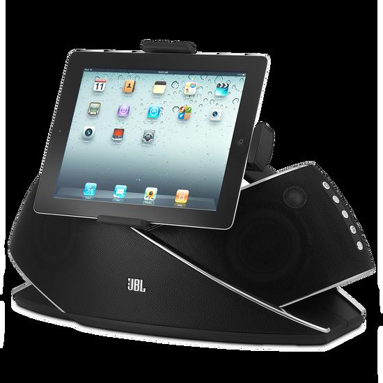 JBL OnBeat Xtreme - Black-Z - Powerful Bluetooth Speaker Dock for iPod/iPad/iPhone - Hero
