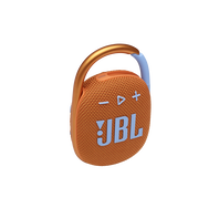 JBL CLIP 4 - Orange - Ultra-portable Waterproof Speaker - Hero