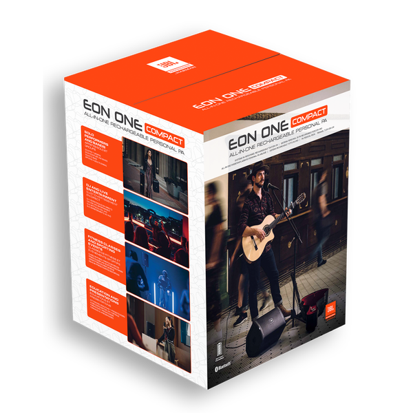 JBL EON ONE Compact - What's in the Box
