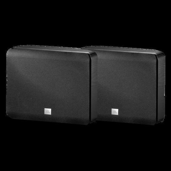 STUDIO L820 - Black - 4-Way 6 inch (150mm) High-Performance, Mirror-Image, Wall-Mount Satellite Speaker - Hero