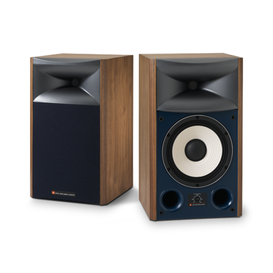 "4306 - Walnut - 8"" 2-way Studio Monitor Loudspeaker - Hero"