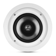 SOUNDPOINT SP 6C II - Black - 2-Way 6-1/2 inch In-Ceiling Speaker - Hero