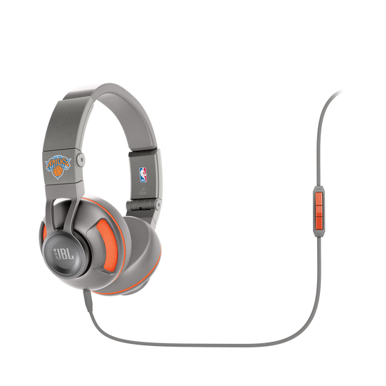 Synchros S300 NBA Edition - Knicks - Grey - Stylish Synchros on-ear stereo headphone - Hero