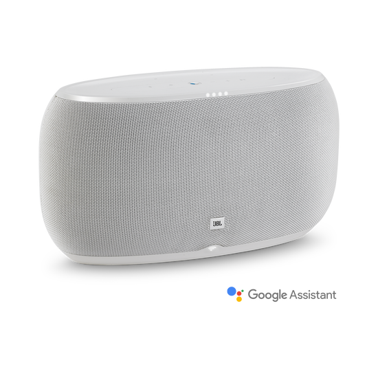 JBL Link 500 - White - Voice-activated speaker - Hero