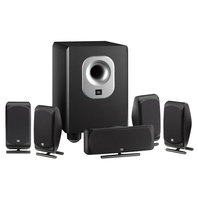 SCS 200.5 - Black - Complete 6-Piece System - Hero