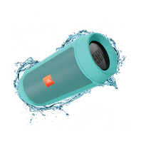 JBL Charge 2+ - Teal - Splashproof Bluetooth Speaker with Powerful Bass - Hero