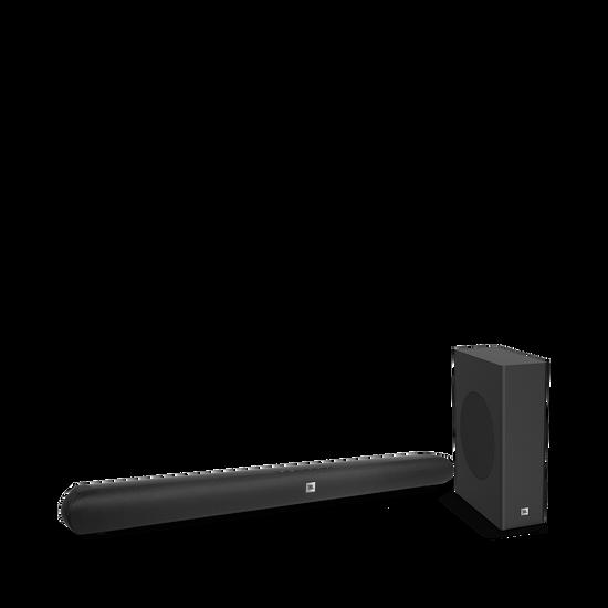 Cinema SB150 - Black - Home cinema 2.1 soundbar with compact wireless subwoofer - Hero