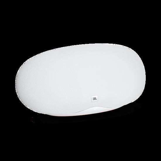 JBL Playlist - White - Wireless speaker with Chromecast built-in - Hero