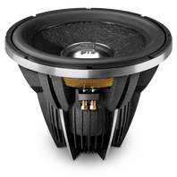W15GTI II - Black - 15 inch Differential Drive Design Subwoofer - Hero