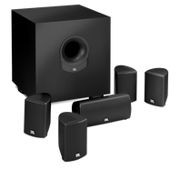 SCS 145.5 - Black - Complete 6-Piece System - Hero