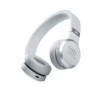 JBL Live 460NC - White - WIRELESS ON-EAR NC HEADPHONES - Hero