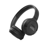 JBL Tune 510BT - Black - Wireless on-ear headphones - Hero