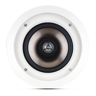 SOUNDPOINT SP 6CS II - White - 2-Way 6-1/2 inch In-Ceiling Stereo Speaker - Hero