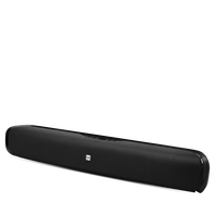 Cinema SB200 - Black - Plug-and-Play Bluetooth Soundbar Speaker - Hero