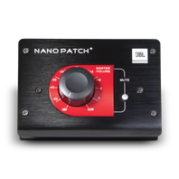 JBL Nano Patch+ - Black - Compact 2 Channel Passive Volume Controller - Hero