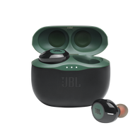 JBL TUNE 125TWS - Green - Truly wireless in-ear headphones. - Hero