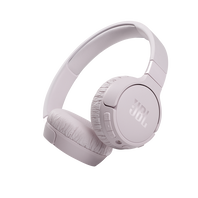 JBL Tune 660NC - Pink - Wireless, on-ear, active noise-cancelling headphones. - Hero
